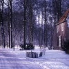 besneeuwde boerderij brabant