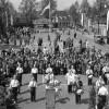 festiviteiten tijdens de tiende viering van de bevrijding in Boxtel